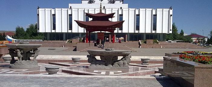 Военные части в Кызыле